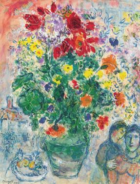 Grand Bouquet de Renoncules, 1968 by Marc Chagall