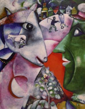 I and the Village, 1911 by Marc Chagall