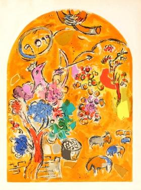 Jerusalem Windows : Joseph by Marc Chagall