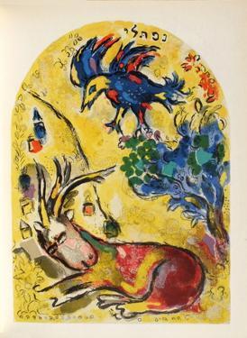 Jerusalem Windows : NephtaII by Marc Chagall