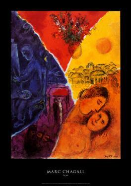 Joie by Marc Chagall
