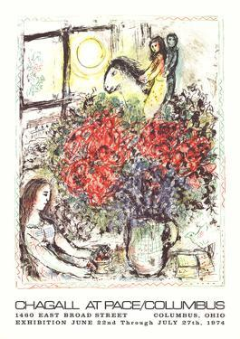 La Chevauchee by Marc Chagall