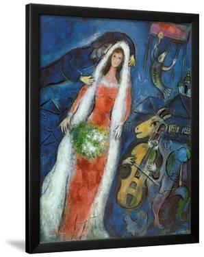 La Mariee by Marc Chagall