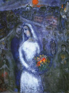 Le Couple by Marc Chagall