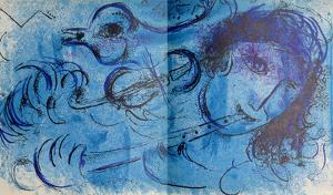 Le Joeur de Flute by Marc Chagall