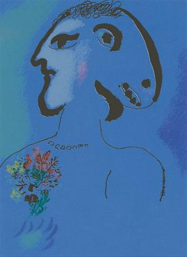 Le Village Bleu (Variation) by Marc Chagall