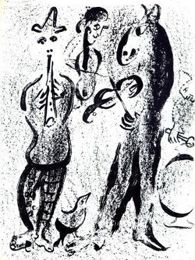 Les Saltimbanques by Marc Chagall