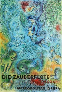 Metropolitan Opera, The Magic Flute by Marc Chagall