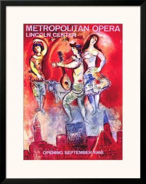 Metropolitan Opera by Marc Chagall