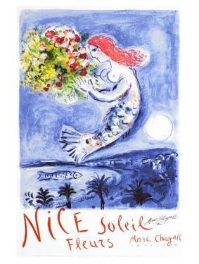 Nice, Soleil Fleurs by Marc Chagall