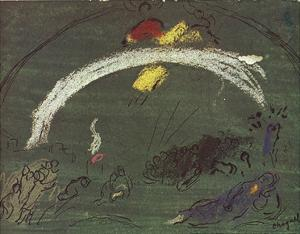 Noah and the Rainbow by Marc Chagall