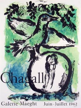 Oiseau Vert, 1962 by Marc Chagall