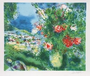 Paysage by Marc Chagall