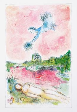 Pink Opera by Marc Chagall