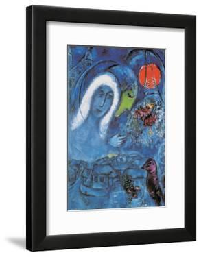 The Champ de Mars by Marc Chagall
