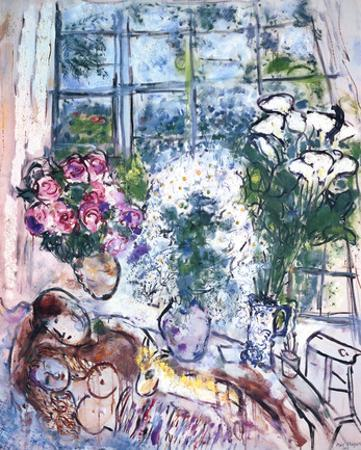 The White Window by Marc Chagall