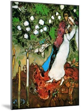 Three Candles by Marc Chagall