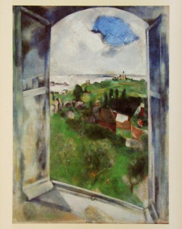 Window with View on the Island Bréhat, c.1924
