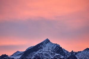 Alpspitze, Sundown by Marc Gilsdorf