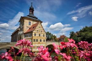 Bamberg, Old City Hall, Regnitz by Marc Gilsdorf