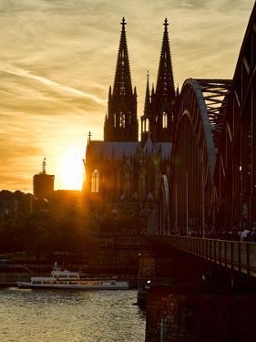 Cologne Cathedral, Dusk, Sundown by Marc Gilsdorf