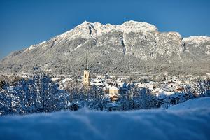 Garmisch-Partenkirchen, Winter Scenery by Marc Gilsdorf