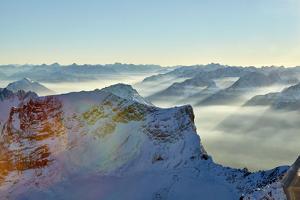 Mountain Panorama Zugspitze by Marc Gilsdorf