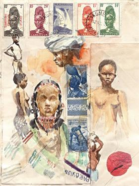 African Women by Marc Lacaze
