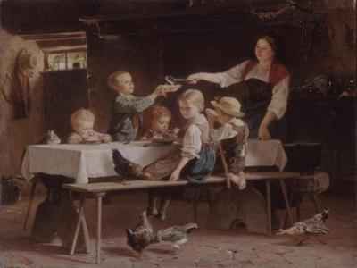 Kids at Lunch, 1857