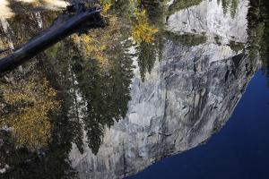 A Reflection of El Capitan in the Merced River by Marc Moritsch