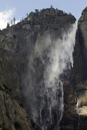 A Scenic View of Upper Yosemite Falls by Marc Moritsch