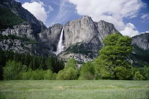 Distant View of Yosemite Falls by Marc Moritsch