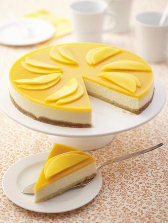 Mango Cheesecake by Marc O. Finley