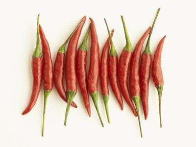 Red Chili Peppers by Marc O. Finley