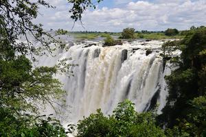 Victoria Falls, Zambezi River, Africa by Marc Scott-Parkin