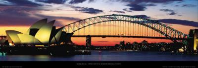 Opera House and Harbor Bridge, Sydney