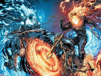 Ghost Rider No.28 Cover: Ghost Rider by Marc Silvestri