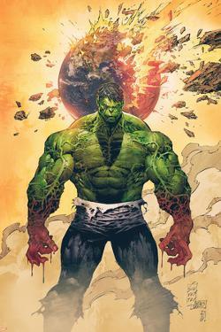 Incredible Hulk No.1 Cover: Hulk Standing by Marc Silvestri