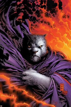 New X-Men No.153 Cover: beast by Marc Silvestri