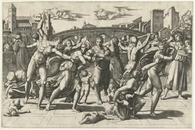 Massacre of the Innocents, c.1515 by Marcantonio Raimondi