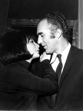 Juliette Gréco and Michel Piccoli in 1968 by Marcel Begoin