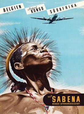 Belgium (Belgien) - Belgian Congo (Belgisch Kongo) - South Africa (Südafrika) - Sabena by Marcel Cros