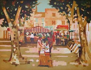 Marche en Provence by Marcel Depre