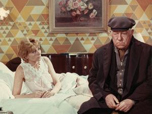 Annie Cordy and Jean Gabin: Le Chat, 1971 by Marcel Dole