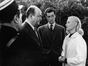 Bernard Blier, Jean Olivier and Michèle Morgan: Retour de Manivelle, 1957 by Marcel Dole