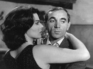 Charles Aznavour and Giovanna Ralli: Horace 62, 1962 by Marcel Dole