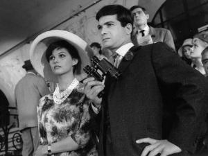 Claudia Cardinale and Jean-Claude Brialy: Les Lions Sont Lâchés, 1961 by Marcel Dole