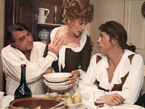 Jacques Brel, Armand Mestral and Rosy Varte: Mon Oncle Benjamin, 1969 by Marcel Dole