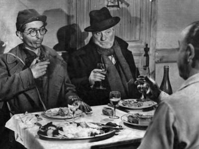 Jean Gabin and Darry Cowl: Archimède, Le Clochard, 1959 by Marcel Dole