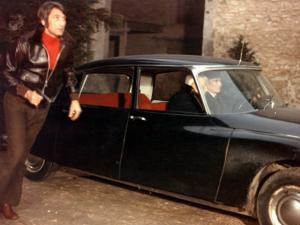 Jean Gabin and Félix Marten: Le Tueur, 1972 by Marcel Dole